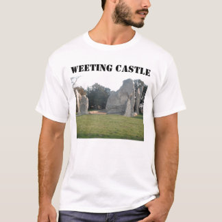T-Shirt Weeting Castle Weeting Norfolk England