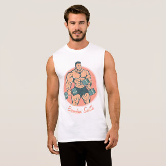 T-Shirt wiith bodybuilder and your name