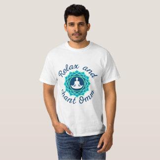T-Shirt with Azure Mandala