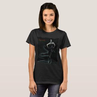 T Shirt with Ballerina in Black TuTu Exquisite