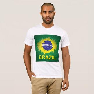 T-Shirt with Beautiful Brasilian Flag
