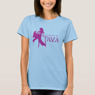 T-Shirt with Bellydance by Tava Logo