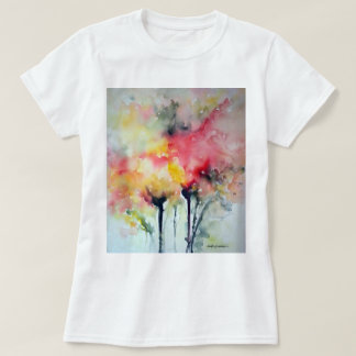 T-shirt With Floral