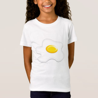 t-shirt with Fried egg, ideal for children