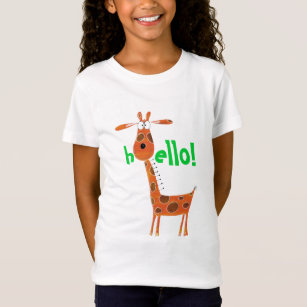 123c90de8f Funny Giraffe Shirts Clothing - Apparel, Shoes & More | Zazzle CA