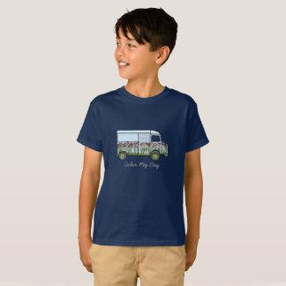 T-shirt with gebloemde Citroën HY