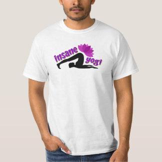 T-Shirt with Insane Yogi sign