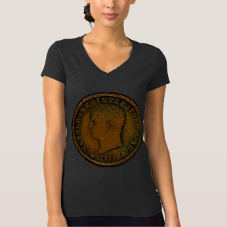 T-Shirt with Napoleon Coin - Kingdom of Italy 1813