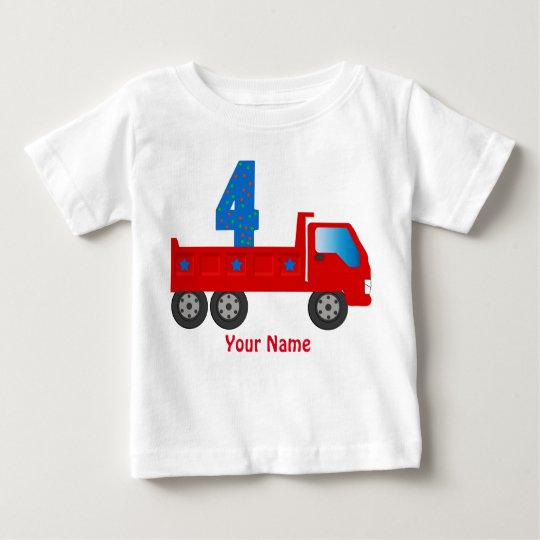 T-shirt With Number 4