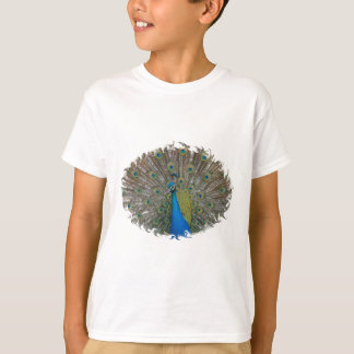 T-SHIRT with Peacock Finery