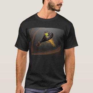 t-shirt with shovel of padel