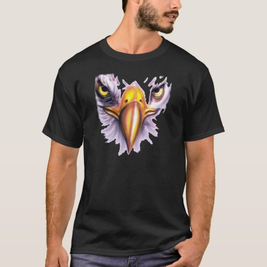 T-shirt with the face of the American eagle - M1