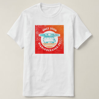 T-shirt with the logo washed of kayak newspaper