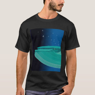 T-shirt with whale print