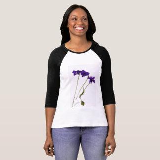 T.shirt woman Violets T-Shirt