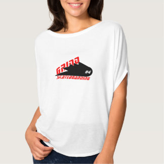 t shirt womens bella grind skateboarding clothing