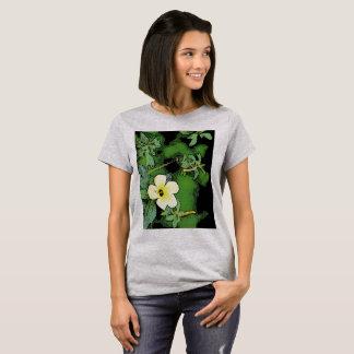 T-SHIRT YELLOW FLOWER