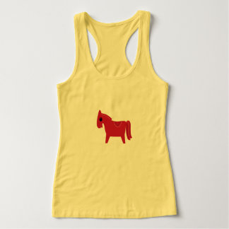 T-shirt yellow with little Brown horse