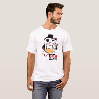 T-shirt Zombie Panda Mechanical Orange