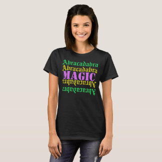 T-SHIRTS- Abracadabra magic/apparel design text T-Shirt