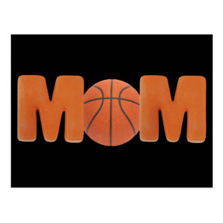 T-shirts and Gifts For Basketball Mom Postcard