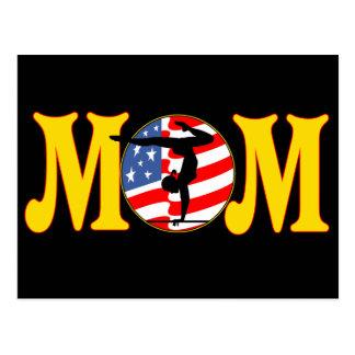 T-shirts and Gifts For Gymnastics Mom Postcard