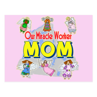 T-shirts and Gifts For Miracle Mom Postcard