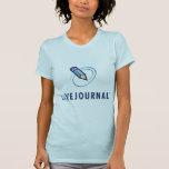 T-shirts de dames (verticale de logo)