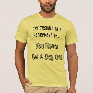 T-shirts de retraite de fête des pères