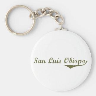 T-shirts de révolution de San Luis Obispo Porte-clé Rond