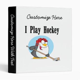 T-shirts et cadeaux d'hockey de pingouin classeur
