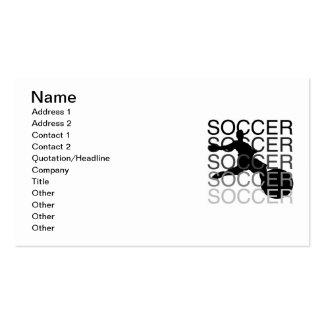 T-shirts et cadeaux du FOOTBALL Carte De Visite Standard