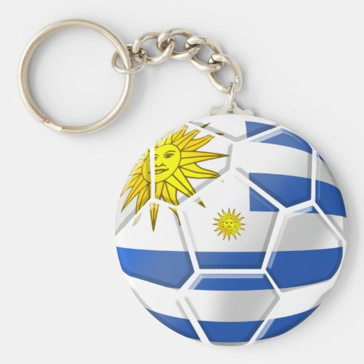 T-shirts et cadeaux du football de l'Uruguay Porte-clef