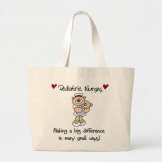 T-shirts et cadeaux pédiatriques d'infirmières d'o sac fourre-tout