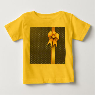 T-Shirts Gold Present Bow