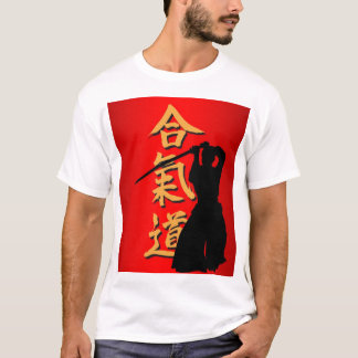 T-shirts of aikido