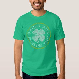 T-shirts potables irlandais d'équipe d'O'Reilly