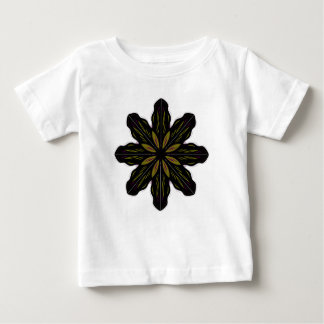 T-shirts white with Mandala black