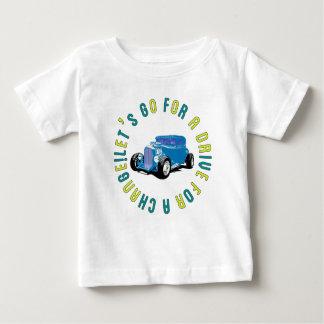 T shiyatsukuratsushitsukuka for Blue Classic car Baby T-Shirt