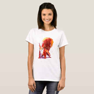 t-sirt with handpainted squirrel T-Shirt