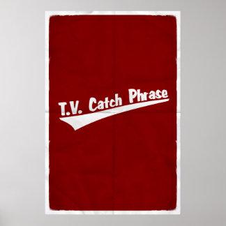 T.V. Catchphrase! Poster