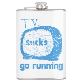 T.V. Sucks, Go Running Hip Flask