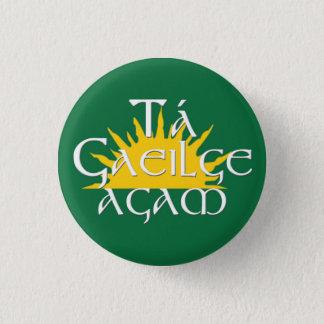 Ta Gaeilge Agam 1 Inch Round Button