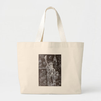 Ta Ta Tara Ra Large Tote Bag