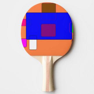 Tab - Abstract Art Ping Pong Paddle