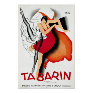 Tabarin by Paul Colin | Art Deco 1920s Poster