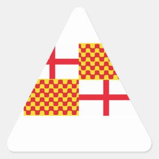 Tabarnia Libre Flag Triangle Sticker