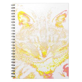 Tabby Cat 3 Spiral Notebooks