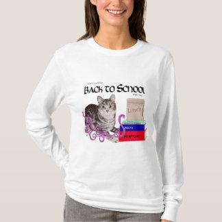 Tabby Cat Back to School T-Shirt