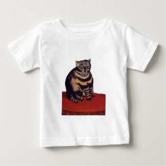 Tabby Cat by Henri Rousseau Baby T-Shirt